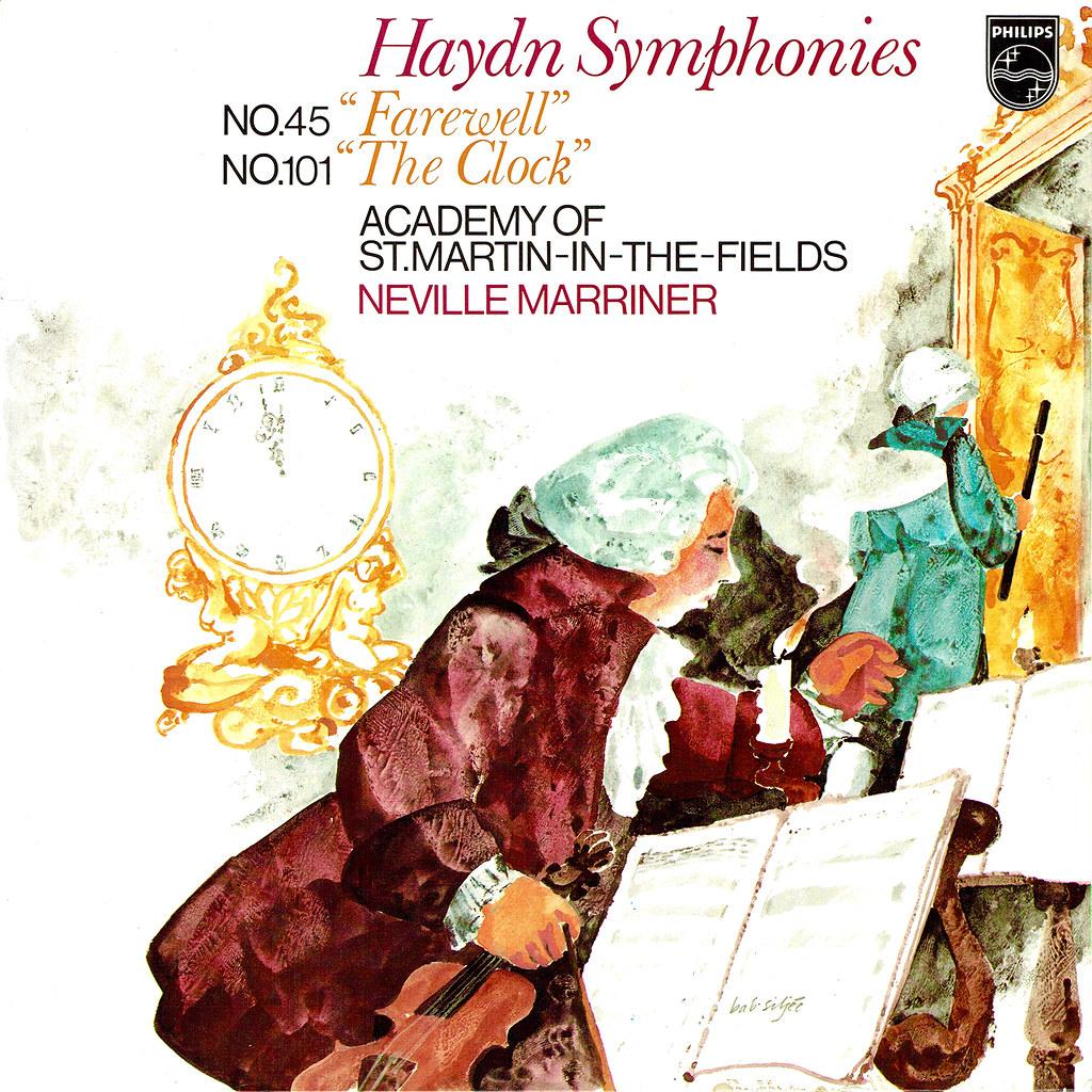 Franz Joseph Haydn - Symphonies 45 Farewell & 101 The Clock