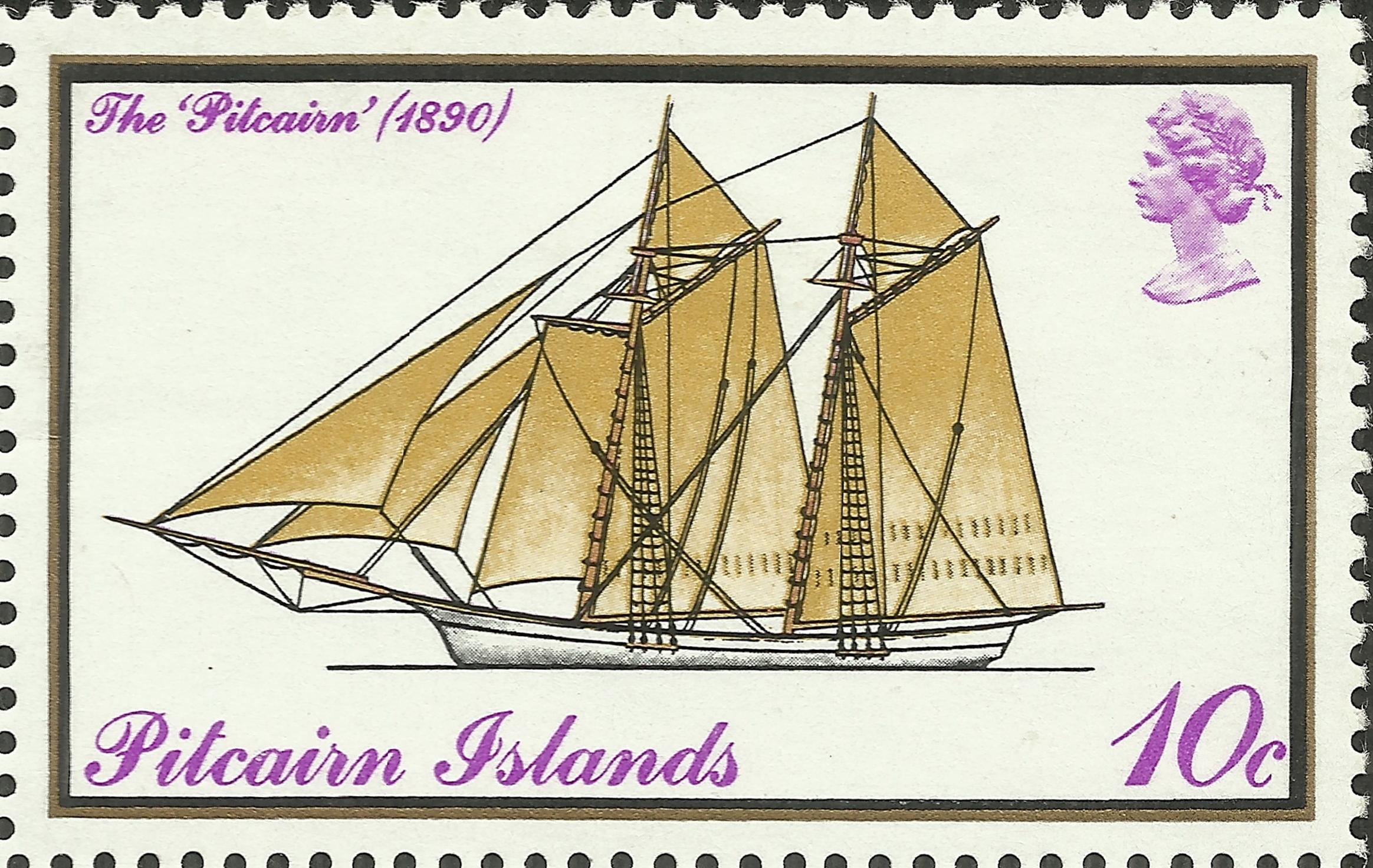 Pitcairn Islands - Scott #148 (1975)