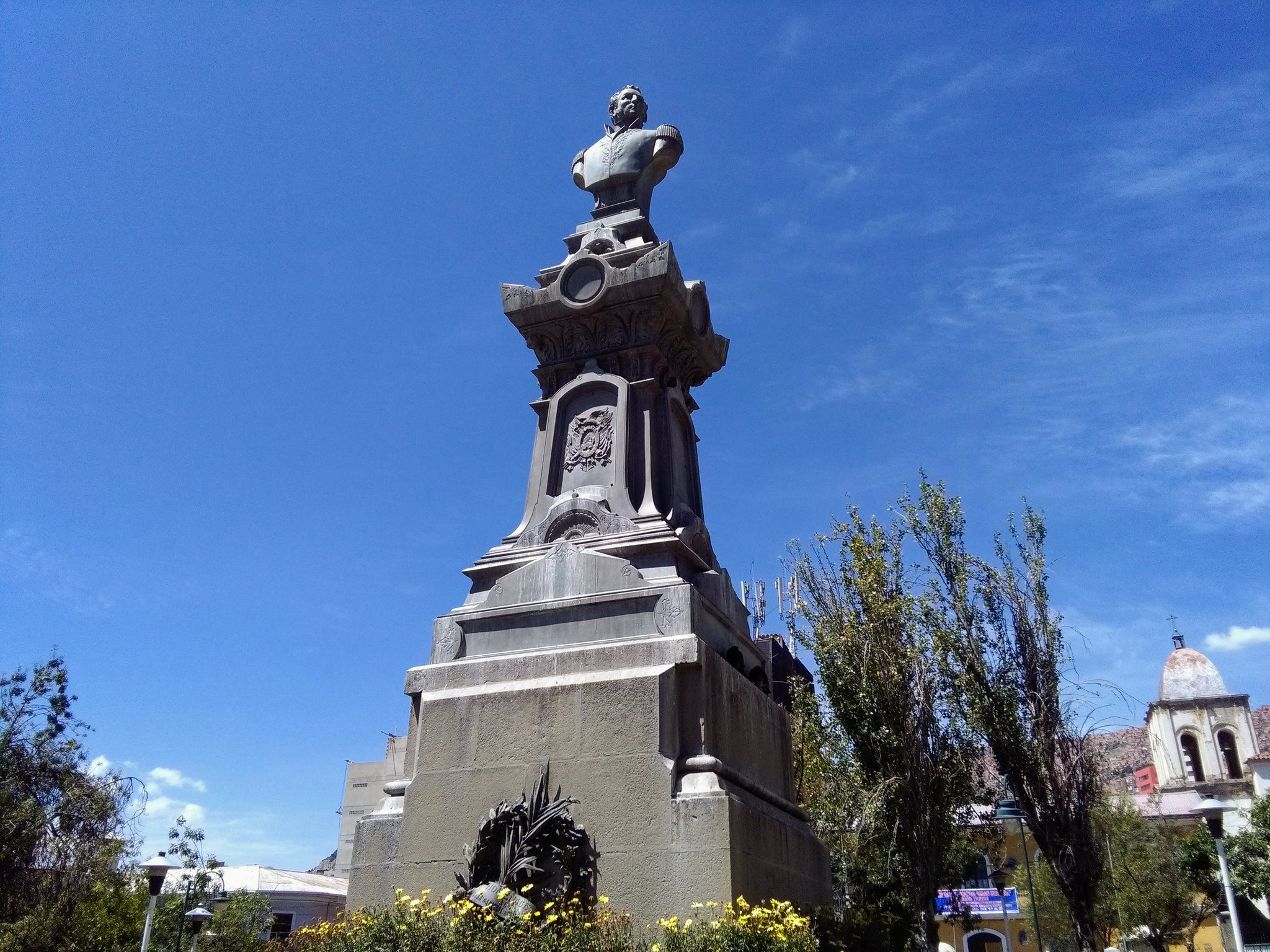 Plaza de San Pedro in La Paz