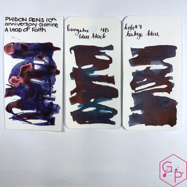 Phidon Pens 10th Anniversary A Leap of Faith Ink Review 8