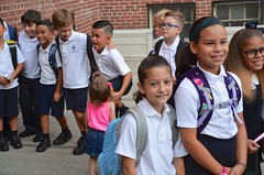 Third-Graders Before The First Day Of School