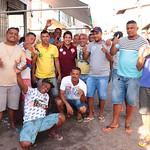 Visita aos moradores da Ilhinha