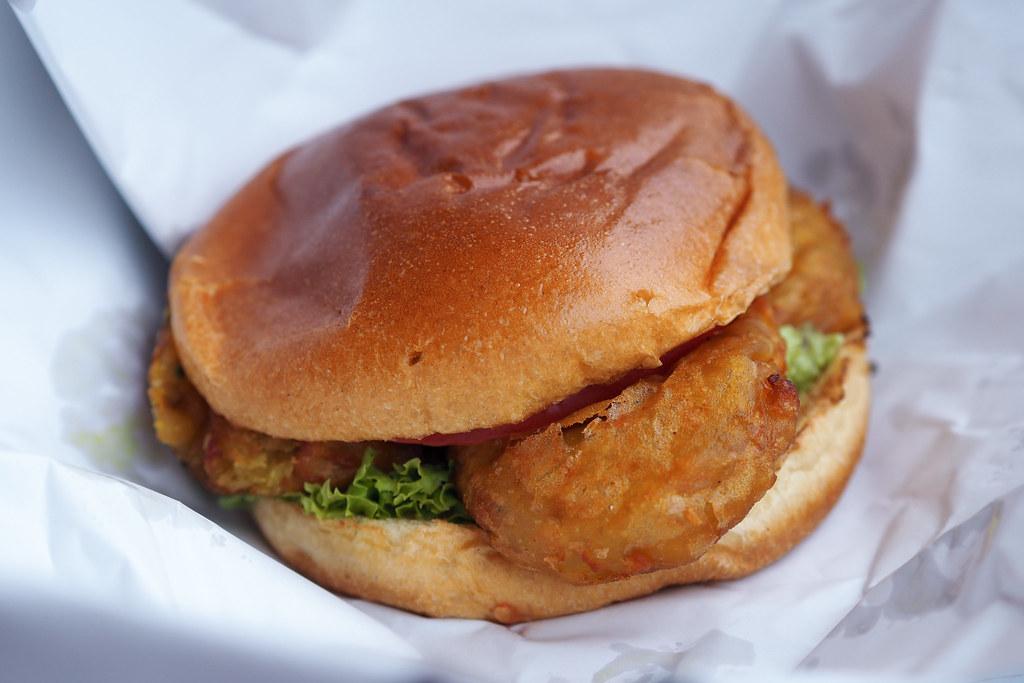Burger Bhais Manchester Aloo Tikka Vegetarian