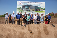 STEM Innovation Center Groundbreaking-86