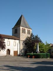 Gorses - Dans les rues du bourg - Photo of Montet-et-Bouxal