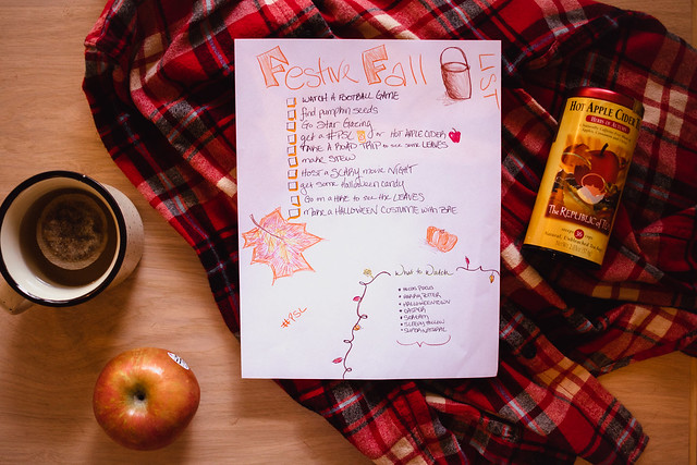 festive fall bucket list