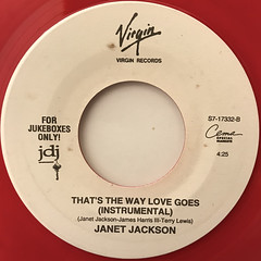 JANET JACKSON:THAT'S THE WAY LOVE GOES(LABEL SIDE-B)