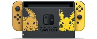 讓皮卡丘和伊布隨時陪伴!《精靈寶可夢 Let's Go!皮卡丘/伊布》Nintendo Switch 同捆組