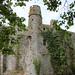 Le château fort de Pirou (XIIe siècle)