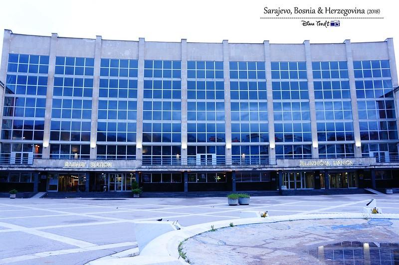 2018 Bosnia Sarajevo Railway Station (Zeljeznicka stanica)