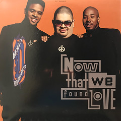 HEAVY D. & THE BOYZ:NOW THAT WE FOUND LOVE(JACKET A)