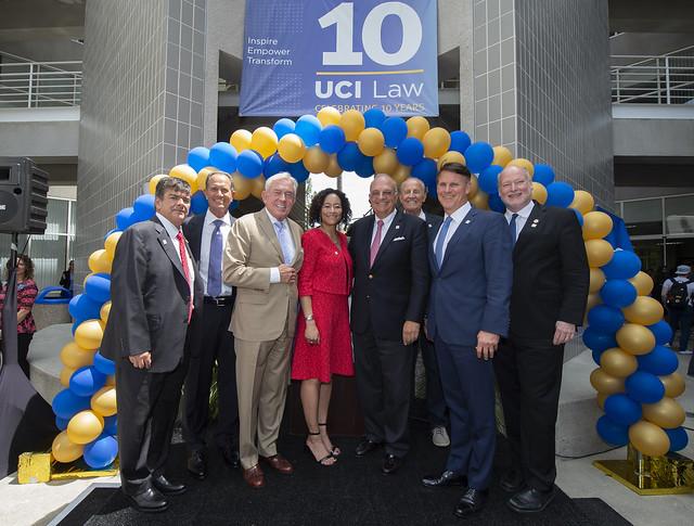 UCI Law 10-Year Anniversary Ribbon Cutting