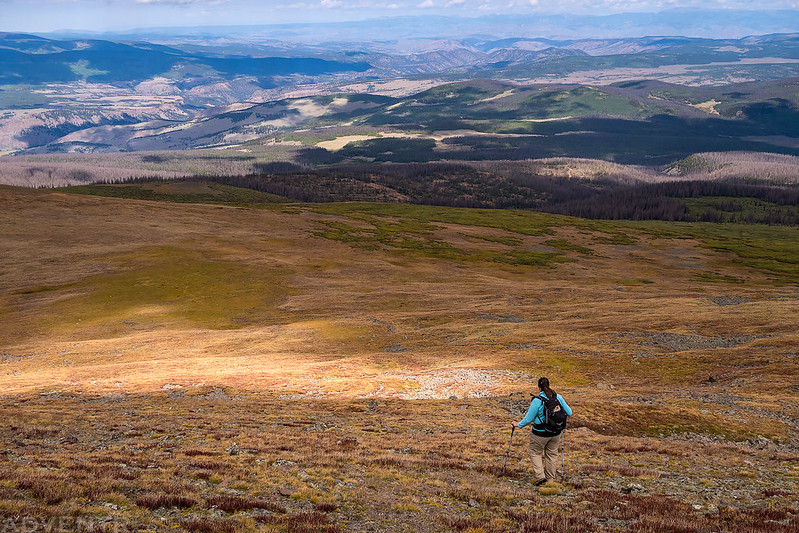 Hiking Down Chato
