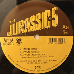 JURASSIC-5:JAYOU(LABEL SIDE-A)