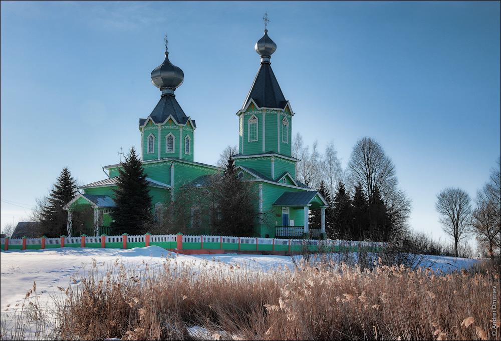 Старый Крупец, Беларусь, Церковь Троицкая