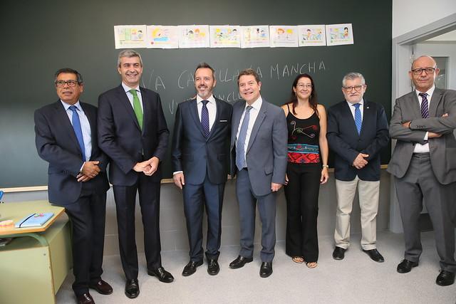 Inauguración de la primera fase de la ampliación del CEIP 'Remigio Laín' de Yuncler