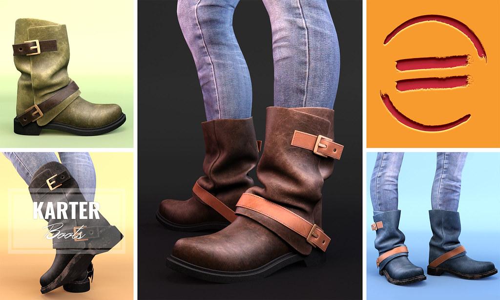 Karter Boots @equal10 - TeleportHub.com Live!