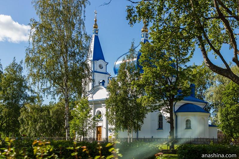 Церковь Священного Анатолия, Сортавала, Карелия