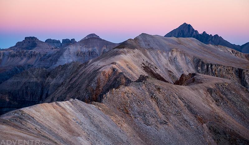 Chicago Peak & Mount Sneffels