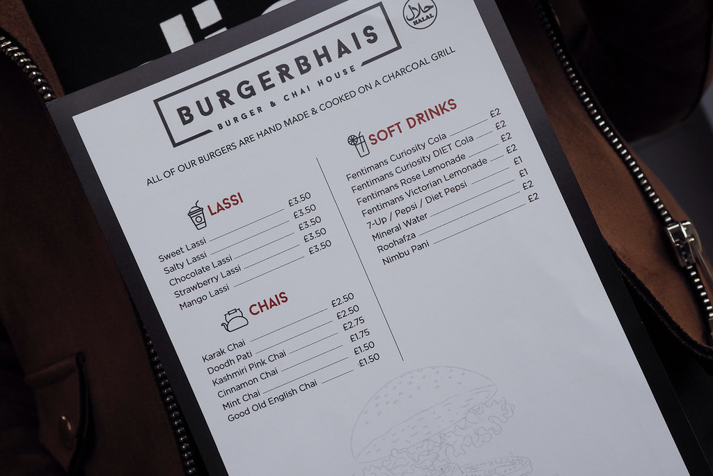 Burger Bhais Cheetham Hill Road Menu