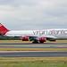 Virgin Atlantic Boeing 747 G-VROM