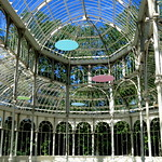 Image of Palacio de Cristal. elretiro madrid