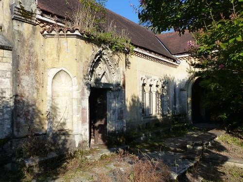 Chapelle du  château Bijou, Labastide-Villefranche, Pyrénées-Atlantiques, qui ouvre son parc pour les journées du patrimoine