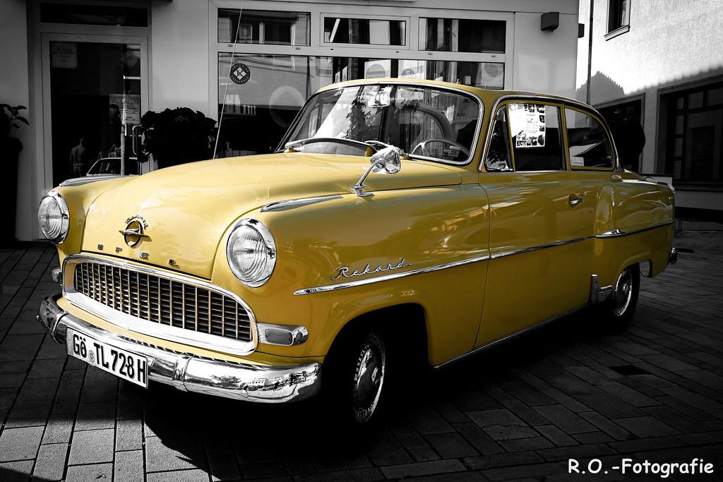 Opel Rekord - Colorkey | Rüdiger Ott | Flickr
