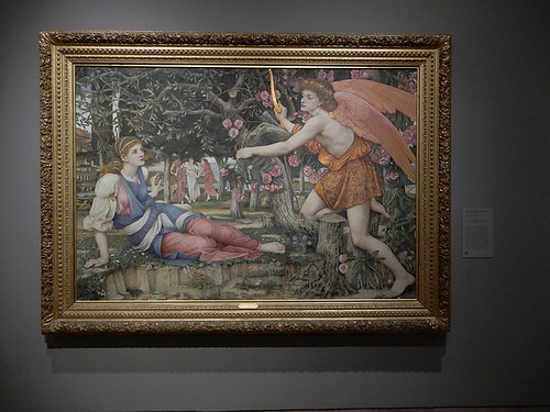 DSCN2662 - Love and the Maiden, John Roddam Spencer Stanhope, The Pre-Raphaelites & the Old Masters