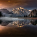 Almsee Panorama by Friedrich Beren