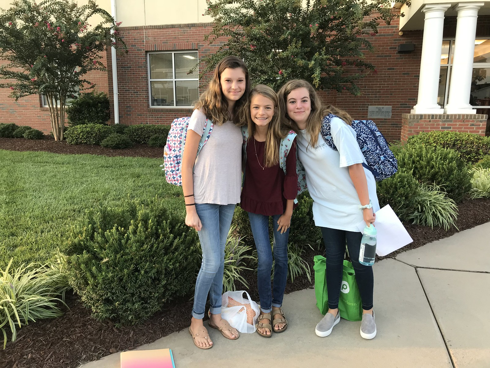 2018 First Day of Middle School