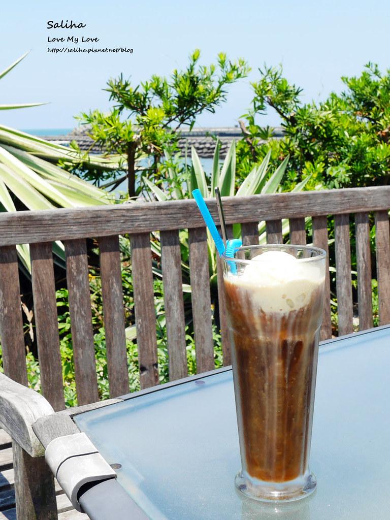 新北三芝淺水灣留夏下午茶咖啡義大利麵餐點心得推薦 (1)