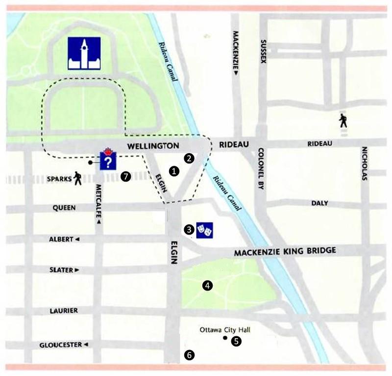 Ottawa Elgin Street Map