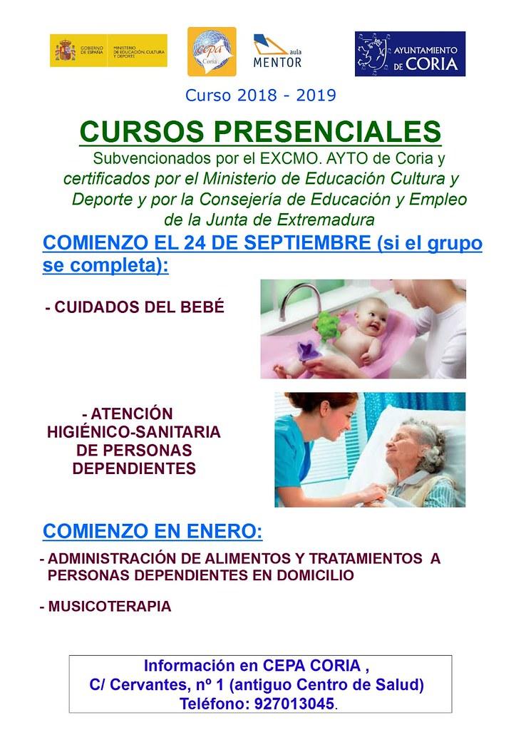 Comienzan los cursos en el Centro de Educación para Personas Adultas (CEPA)