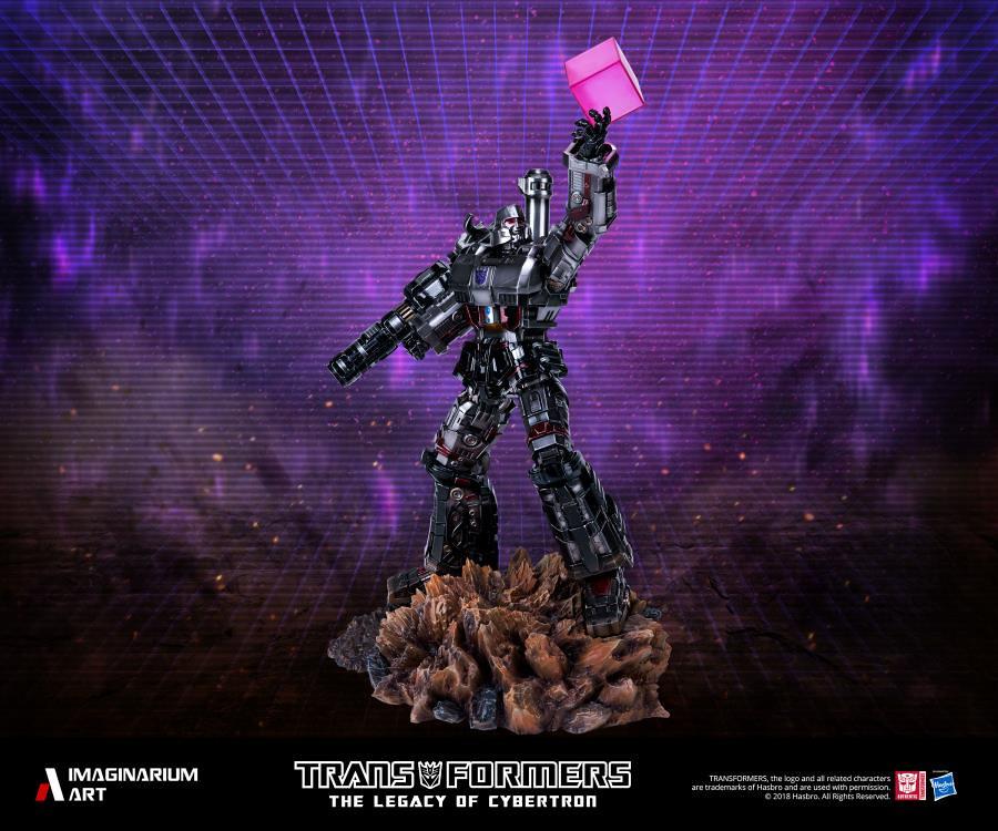 Imaginarium Art Transformers: Legacy of Cybertron 系列《變形金剛》密卡登 Megatron 無比例全身雕像作品