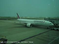 Air France F-GSPU Taipei Republic of China