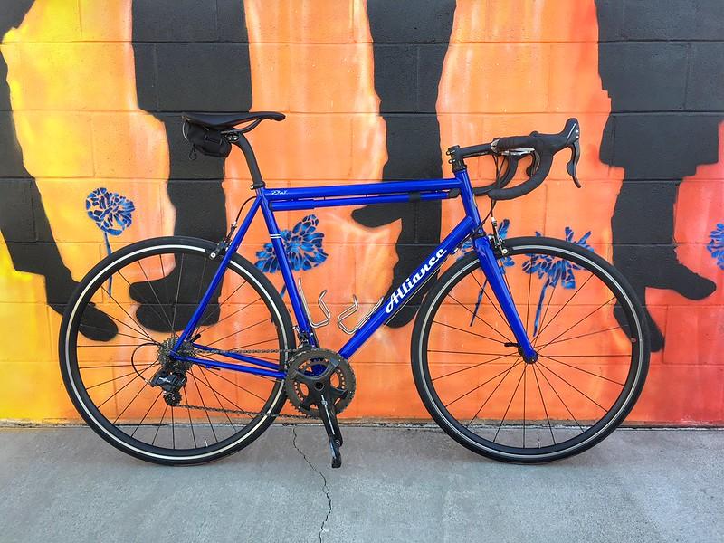 Andy's Steel Road Bike