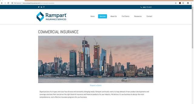 Hudson Yards Sunset Stock Use - Rampart Insurance