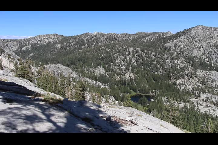 1273 Panorama video from the Tahoe-Yosemite Trail just north of Phipps Pass