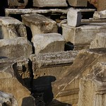 Ancient Roman grave & building bits - Museo Nazionale Romano, Terme di Diocleziano, Rome - https://www.flickr.com/people/11200205@N02/