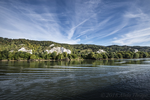 Limestone Cliffs on the Seine