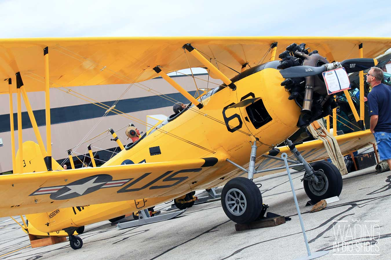 What To Expect When You Visit The Thunder Over Michigan Air Show | via Wading in Big Shoes