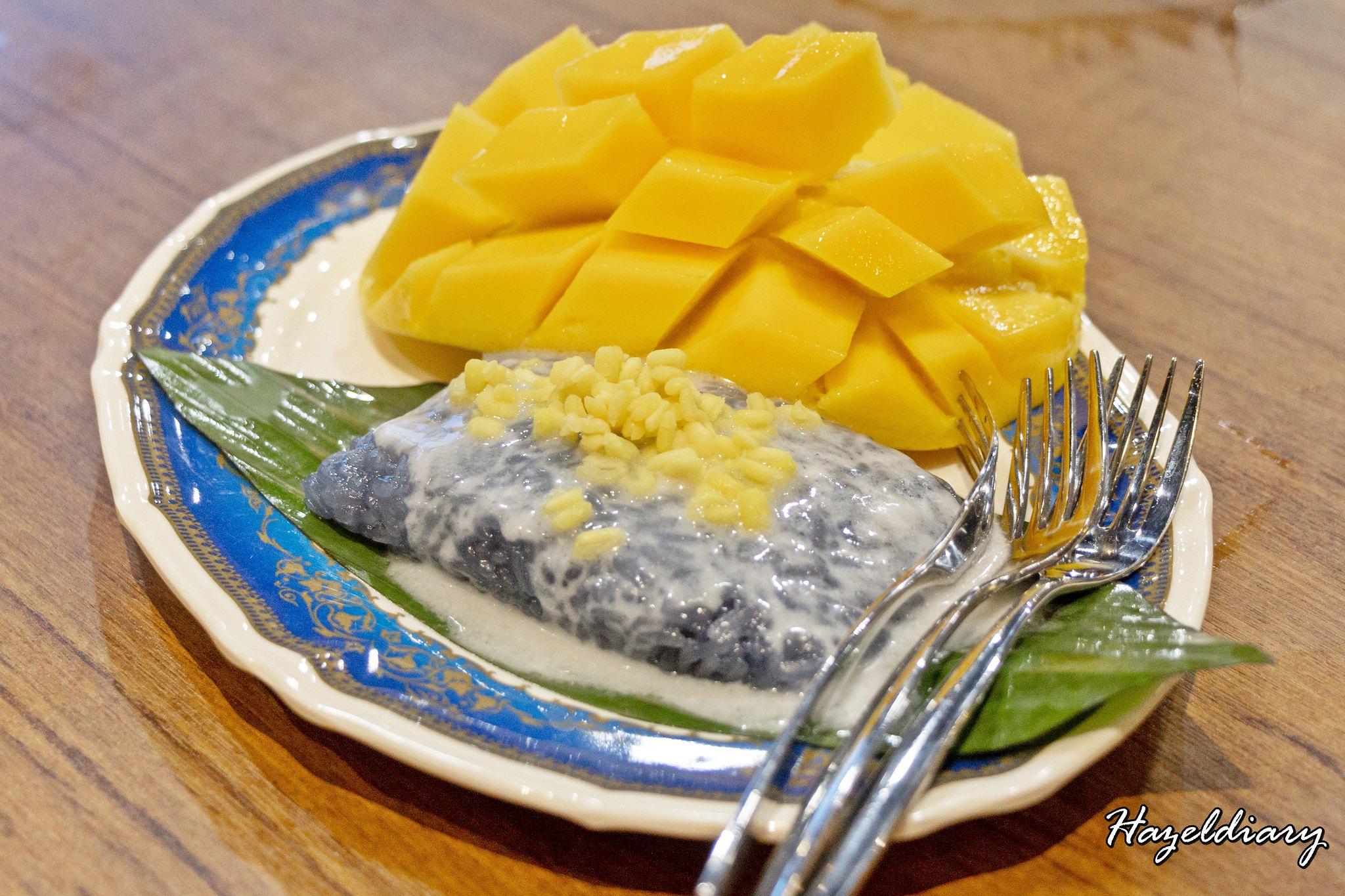 Soi Thai Soi Nice JEM-Hazeldiary-Mango Sticky Rice