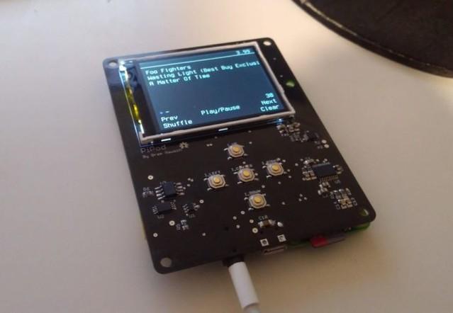 PiPod : Un baladeur MP3 à base de Raspberry Pi Zéro