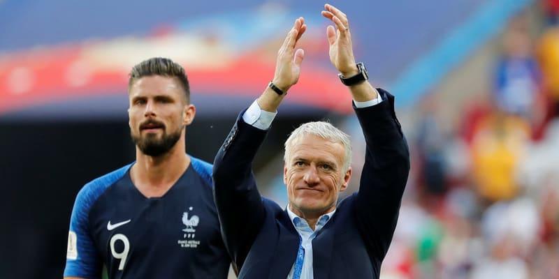 Deschamps: Giroud dikecam secara tidak adil