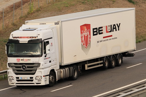 Mercedes Actros 1844 - Be Way - Massicot - FR