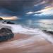 Sunset in Guadeloupe by Jean-Michel Raggioli