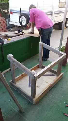 Porch Wood Box