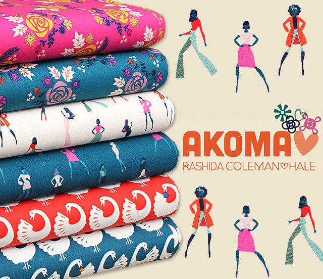 COTTON+STEEL Akoma Collection by Rashida Coleman-Hale