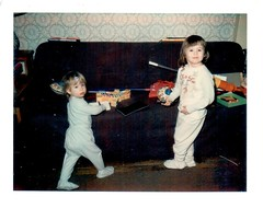 Wanda and Susan 12-25-1969